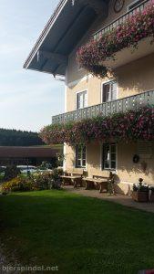 Unsere Unterkunft in Truchtlaching