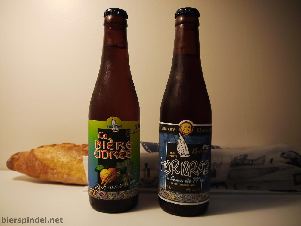 Zwei außergewöhnliche Biere von Mor Braz.