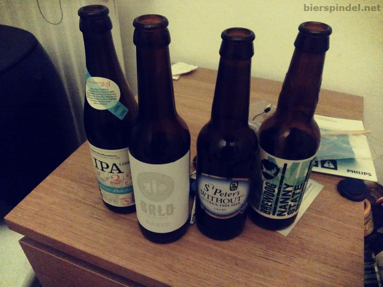 Unsere verkosteten alkoholfreien Biere